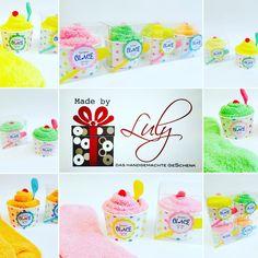 Glace aus Kuschsocken One size 35-41 Handgemachte Geschenke www.facebook.com/madebyLuly
