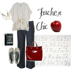 Casual Chik Elegant Style-perfect if you're working as a teacher or if you're going out