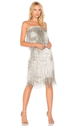 3295e21bc305 Fun beaded holiday dress! RACHEL ZOE Delilah Dress in Platinum #ad Rachel  Zoe Dresses