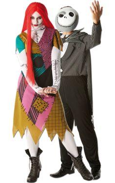 Halloween Jack & Sally Combination | Jokers Masquerade
