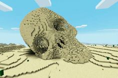 minecr4ft_biome sand skull