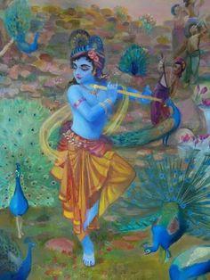 Krishna, the Supreme Dancer. Please like http://www.facebook.com/RagDollMagazine and follow @RagDollMagBlog @priscillacita