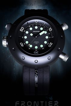FRONTIER, is the modern tool watch brand for adventurer. Assumed for use in each polar region such as deep sea, space, sky.
