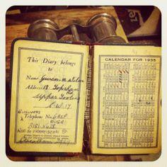 1935 diary