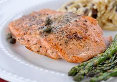 Rock the Mediterranean Diet - Pan Seared Salmon I