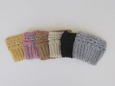 Boot Cuffs Boot Socks Boot Topper  Leg Warmers by babykalo on Etsy, $15.00