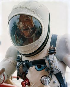 """humanoidhistory: """"December 1965 — Astronaut Jim Lovell walks up the ramp at Pad 19 during the Gemini 7 prelaunch countdown at Cape Canaveral. Jim Lovell, Project Gemini, Space Outfit, Cape Canaveral, Space Race, December 4, Space Program, Space Shuttle, Space Crafts"""