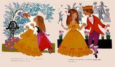 Vintage Fairy Tale Childrens Illustrations by Felicitas Kuhn