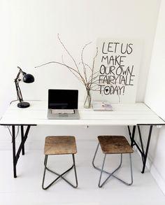 scandinavian home office design