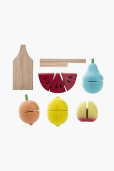 Ensemble de Jeu Fruits
