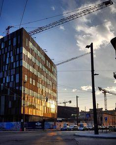 #Torino #Turin #Aurora #seemycity #igerstorino #nofilter #sunset #reflection
