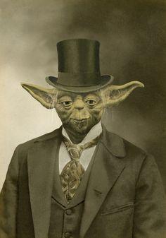 Sir Yoda Art Print