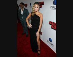 Alexa Vega - Machete Kills red carpet en Los Angeles. 2/10/2013