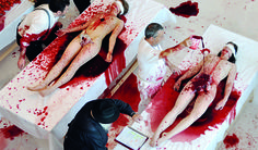 "Hermann Nitsch, ""Orgien Mysterien Theater"""