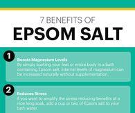 7 Benefits Of Epsom Salt