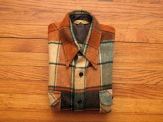 mens vintage heavy weight flannel shirt