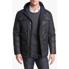 Vince Camuto Reversible Technical Cotton Jacket Large Review Best