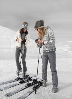 Bogner women designer ski wear white jacket with. Ski Fashion, Sport Fashion, Winter Fashion, Daily Fashion, Lulu Lemon, Sporty Chic, Ski Bunnies, Snow Outfit, Snowboarding Outfit