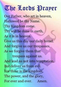 My mother taught this to her two kids and all of her grandchildren as well, despite our father being atheist