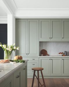 "Dulux Australia on Instagram: ""Interior Inspiration ⎮ Freshen up your kitchen space with the nature inspired Dulux Moorland. Its soft tone is kept light and bright with a…"" Dulux Australia, Dulux Paint Colours, Nature Inspired, Interior Inspiration, Kitchen Cabinets, Bright, Space, House, Instagram"