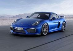 Porsche Cayman GT4 estará em Genebra +http://brml.co/1udI6fi