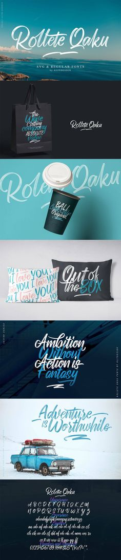 Rollete Qaku Script Font is a unique style, elegant and sporty svg font with shadow. This font is perfect for quote word design, sporty design, etc. Script Fonts, Typography Fonts, Hand Lettering, Wedding Card Design, Wedding Cards, Graphisches Design, Graphic Design, Retro Logos, Vintage Logos
