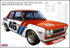 vintage trans am racing Nissan Z, Nissan 300zx, Trans Am, V8 Cars, Race Cars, Datsun 1600, Civic Ef, Bmw, Pony Car