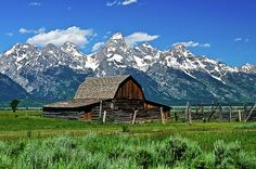 Teton Barn in Grand Teton National Park by Greg Norrell. Prints start at $29. #Tetons #barns #photography