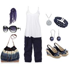 Breezy Blue, created by deborah-simmons on Polyvore