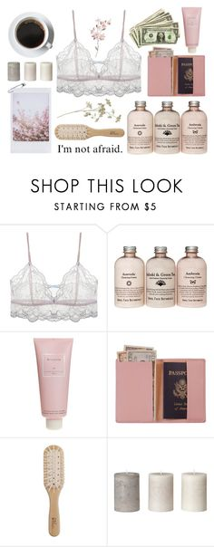 """sweet hot lady #9"" by mavicardenas on Polyvore featuring moda, Eberjey, Chantecaille, Royce Leather y Philip Kingsley"