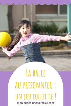 Découvre les règles du jeu de la balle au prisonnier, activité idéale à organiser avec un groupe d'enfants. Organiser, Jouer, Game Mechanics, Prisoner, Bullet, Group, Laughing, Children