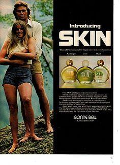1973 SKIN FRAGANCE BONNE BELL, I loved this fragrance!