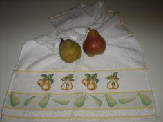 asciugamano cucina pere