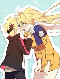 Naruto x Boruto Naruto Minato, Naruto Uzumaki Shippuden, Anime Naruto, Comic Naruto, Chibi Anime, M Anime, Naruto Girls, Fanarts Anime, Konosuba Wallpaper