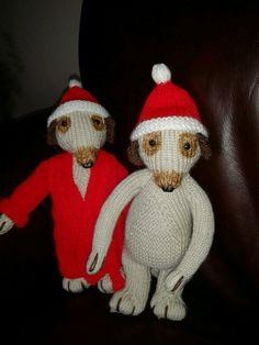 Made by my mum santa meerkat