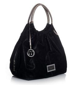 MONNARI czarny duży worek logowany M NEW #184549 (5645021109) - Allegro.pl - Więcej niż aukcje.
