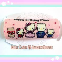 Hello Kitty Roll Cake ^_^