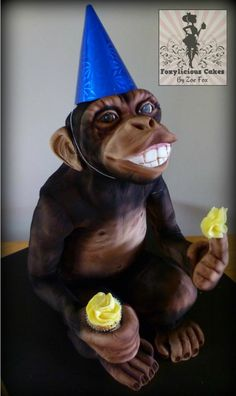 Monkeying Around! - Cake by Sweet Foxylicious