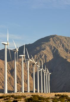 Magical, mysterious windmills in the Coachella valley