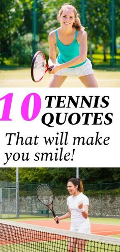 If you are looking to get pumped up before your next tennis match make sure to read these motivational tennis quotes before you step out on the court. These quotes about tennis will make you smile and leave you feeling inspired. Tennis Gear, Tennis Tips, Sport Tennis, Game Day Quotes, How To Play Tennis, Tennis Funny, Tennis Party, Tennis World, Tennis Workout