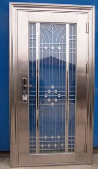 Beautifil Stainless Steel Entry Door Residential Or Commercial