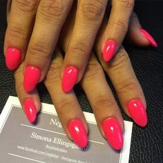#pink #nails #negle #neglesalon #negleteknikker #københavn... http://ift.tt/1PyMfjE #acrylicnails #nailart