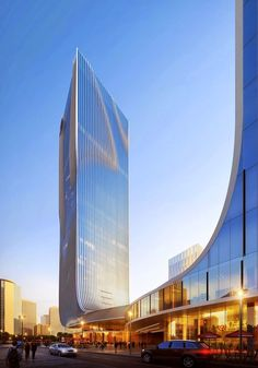 World of Architecture: Impressive Fangda Business Headquarters | #worldofarchi #architecture #modern #China #building #skyscraper #highrise