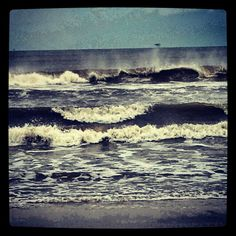 Dauphin Island waves