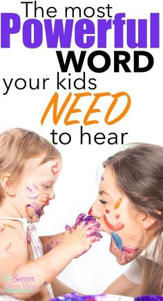 Perhaps the most basic positive parenting strategy of all, but one that is often overlooked. The most powerful word you can use to connect with your kids.