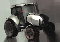 Concept vehicle illustrations by Vadim Gousmanov
