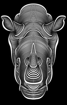 Patrick Seymour is a designer Montreal, Canada and owns a very unique style of illustration. The line work of his pieces is what makes the entire illustration, filled with line work creating a giant piece very detailed by every single line.