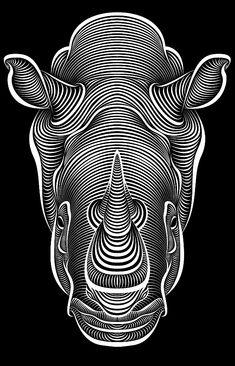 Rhino by Patrick Seymour