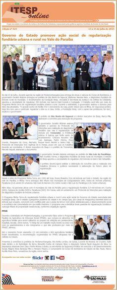 Informação presta: leia os arquivos do blog: Governo do estado promove ação social de regulariz...