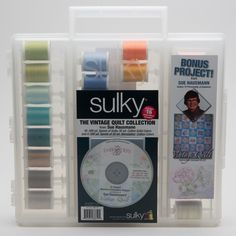 Sue Haussman's The Vintage Quilt Collection  and other Great Gift Ideas for Sewists at blog.sulky.com
